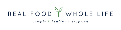 Logo design for Real Food Whole Life - Elle & Company