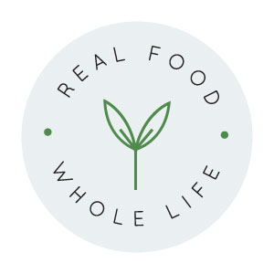 Alternate logo design for Real Food Whole Life - Elle & Company