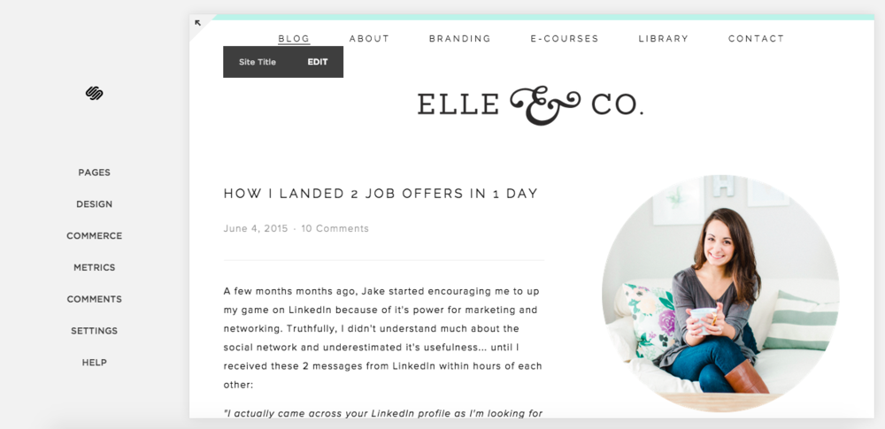 Setting Up Google Analytics in Squarespace | Elle & Company