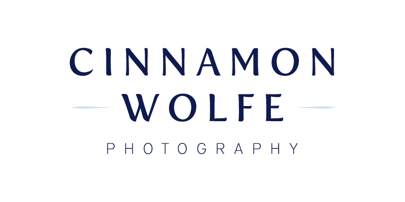 New Brand + Website for Cinnamon Wolfe Photography | Elle & Company
