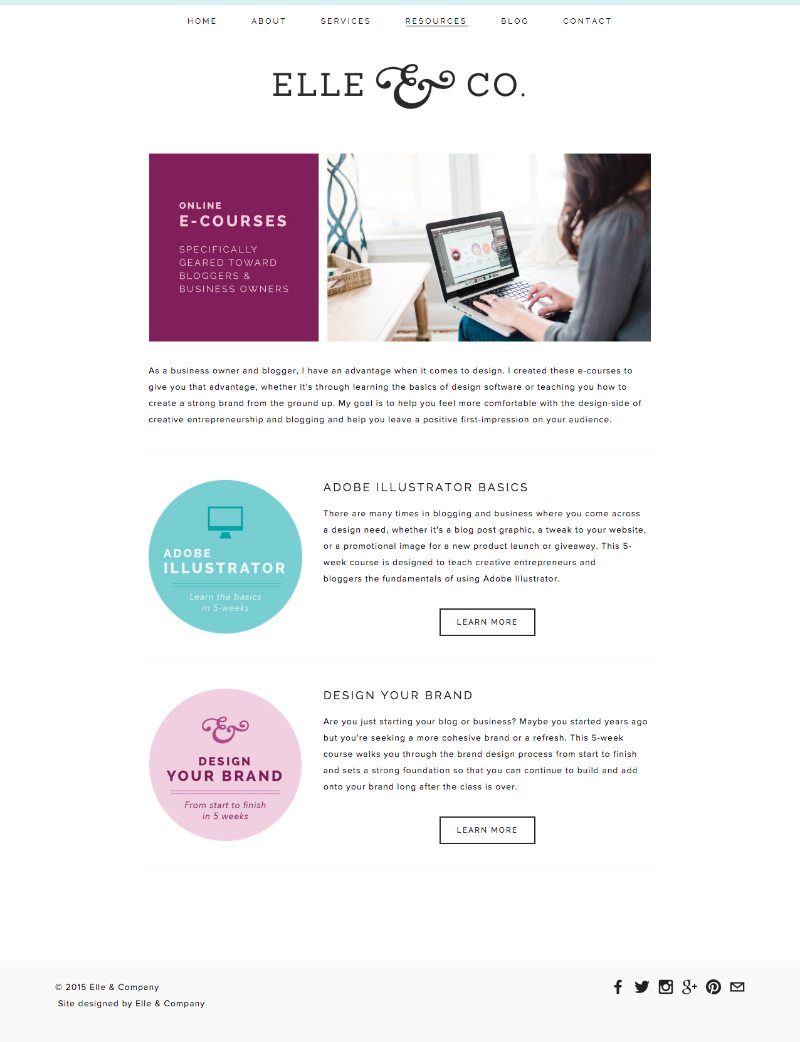4 Tangible Ways Our Website Updates Can Benefit You | Elle & Company