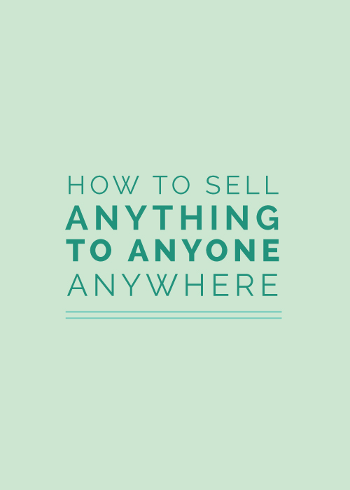 How to Sell Anything to Anyone Anywhere | Elle & Company
