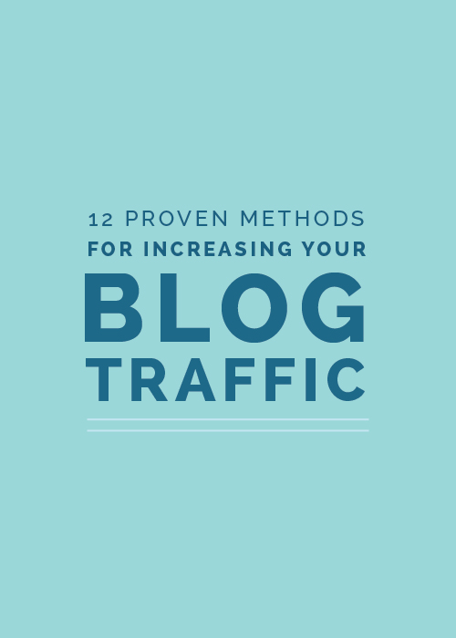 12 Proven Methods for Increasing Your Blog Traffic Today | Elle & Company