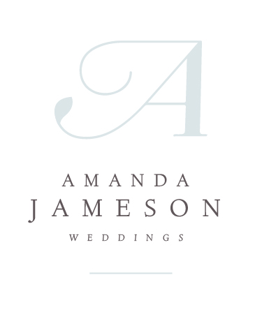 New Brand + Website Design for Amanda Jameson Weddings | Elle & Company