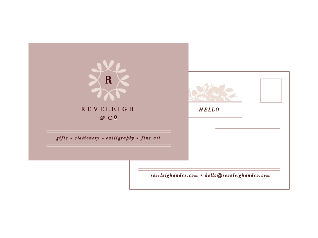 New Brand + Website Design for Reveleigh & Co | Elle & Company