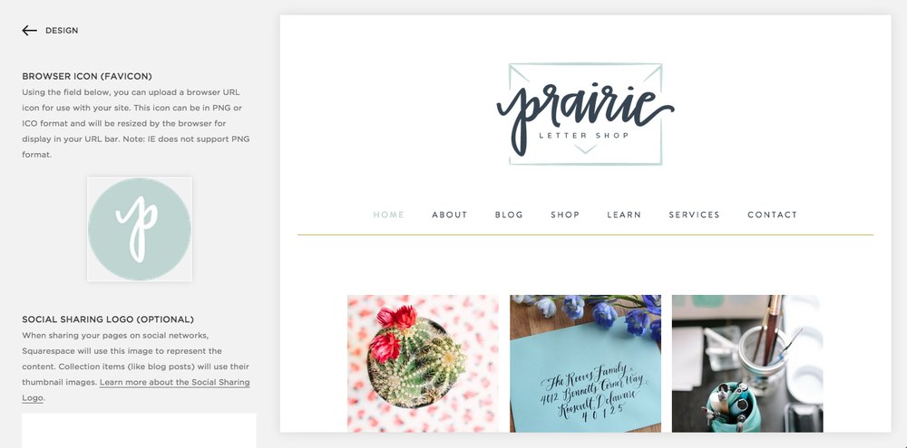 5 Easy Ways to Customize Your Squarespace Website | Elle & Company