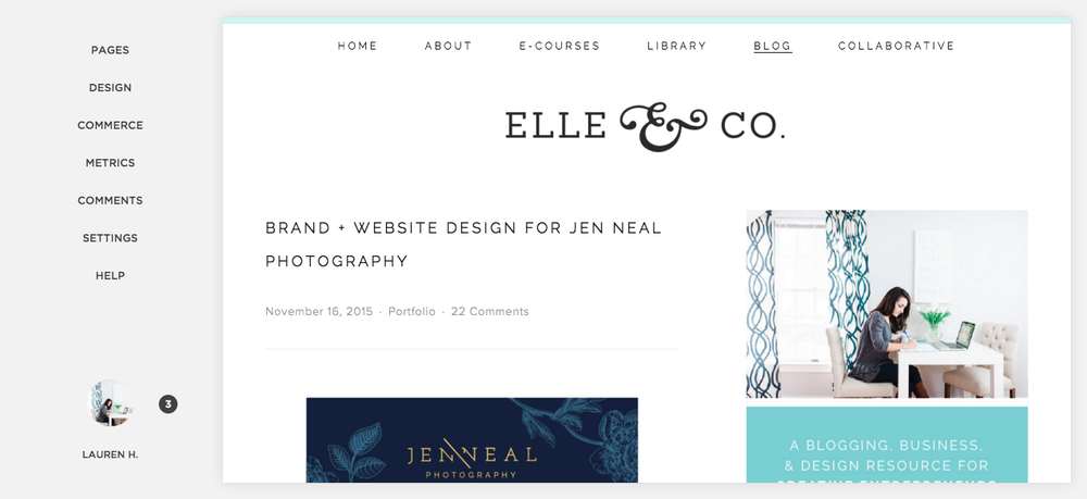 The Ins and Outs of My Squarespace Client Design Process - Elle & Company
