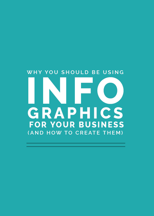 Why You Should Be Using Infographics for Your Business (and how to create them) - Elle & Company