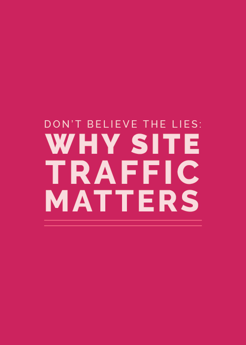Why Site Traffic Matters - Elle & Company