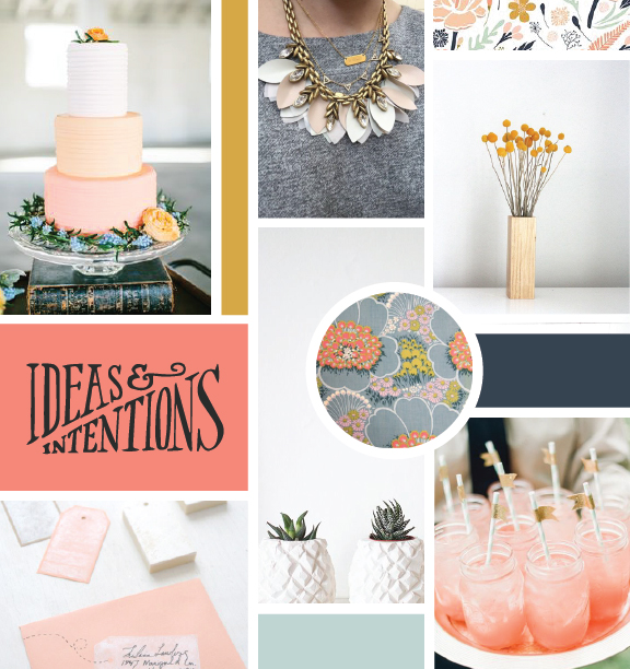 How to Utilize an Inspiration Board to Design a Consistent Brand | Elle & Company