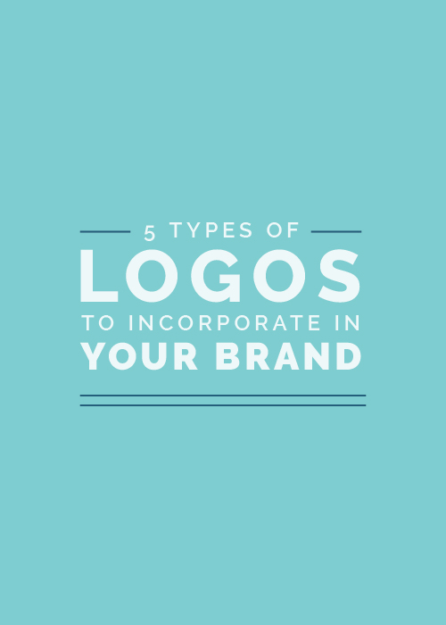 5 Types of Logos to Incorporate in Your Brand | Elle & Company