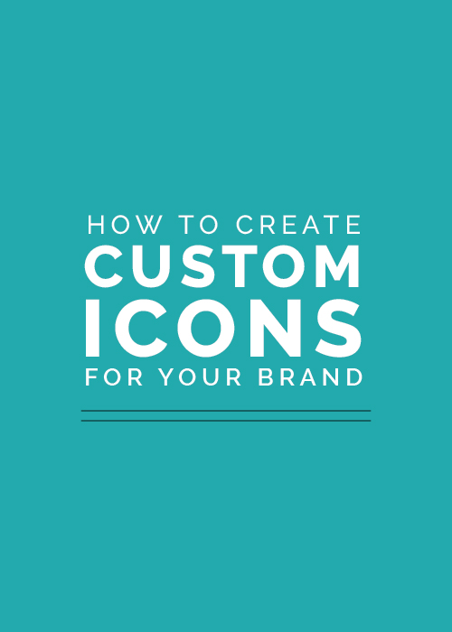 How to Create Custom Icons for Your Brand - Elle & Company