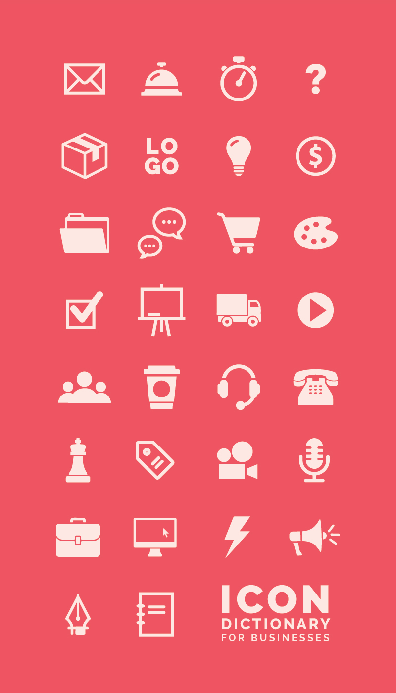 The Ultimate Icon Dictionary for Creative Entrepreneurs - Elle & Company
