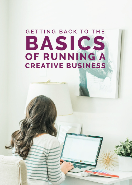 Getting Back to the Basics of Running a Creative Business | Elle & Company