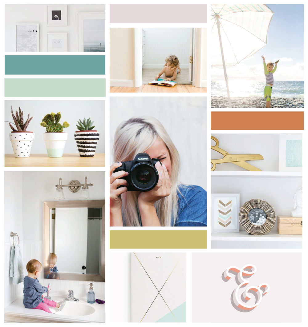 New Brand + Website Design for Full Circle Photo Project - Elle & Company