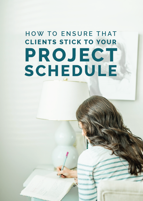 How to Ensure that Clients Stick to Your Project Schedule | Elle & Company