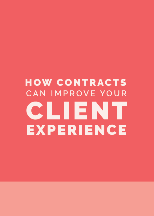 How Contracts Can Improve Your Client Experience | Elle & Company