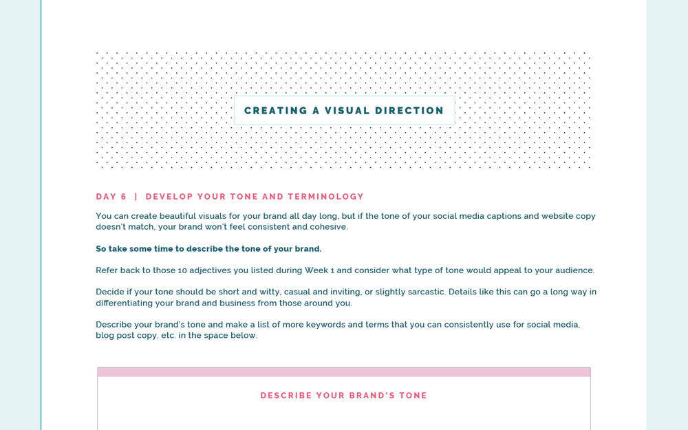 How to Come Up with a Creative Visual Direction for Your Brand | Elle & Company
