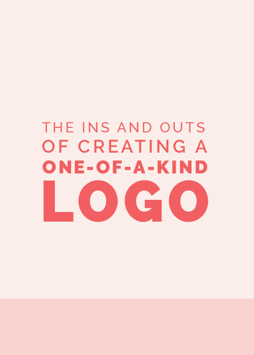 The Ins and Outs of Designing a One-of-a-Kind Logo | Elle & Company
