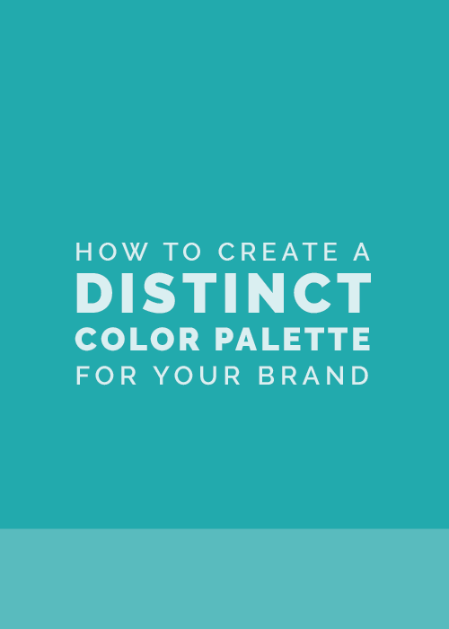 How To Create A Distinct Color Palette For Your Brand