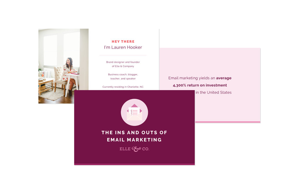 28 Collateral Item Ideas for Your Creative Business   Elle & Company