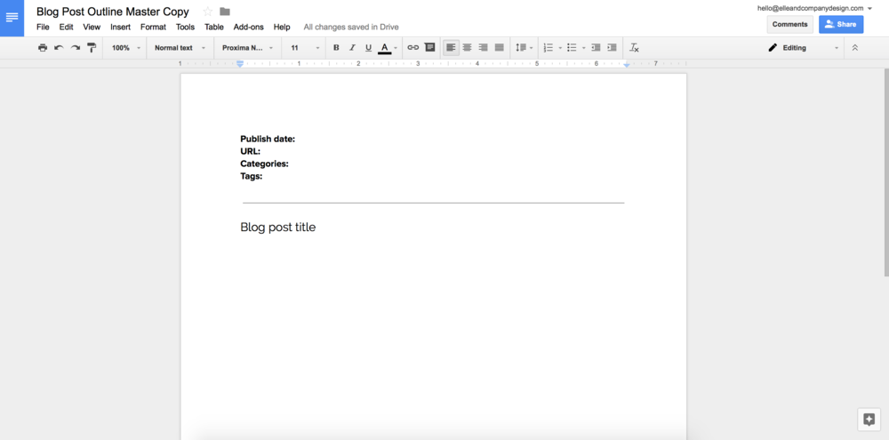 12 google doc templates to make your business more efficient wajeb Images
