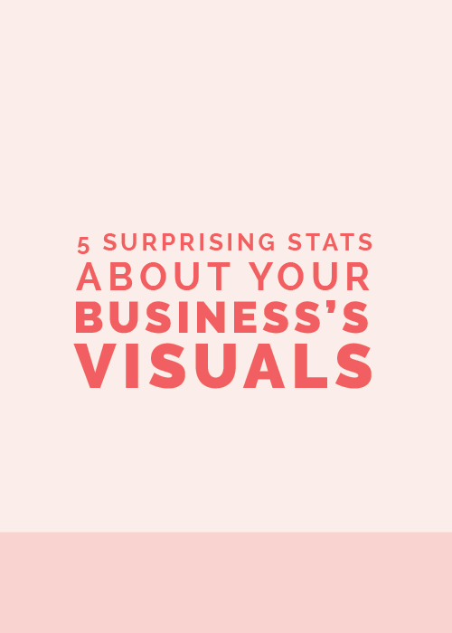 5 Surprising Stats About Your Business's Visuals | Elle & Company