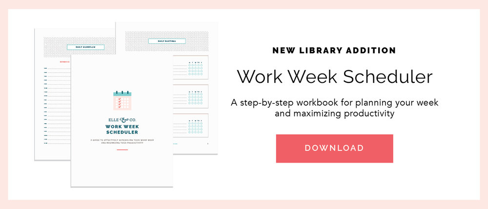 How to Schedule Your Workday, Stay on Task, and Set Boundaries | Elle & Company
