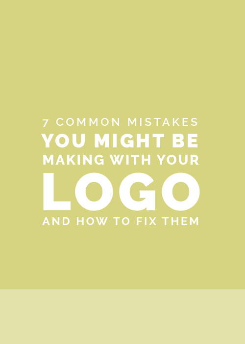7 Common Mistakes You Might Be Making with Your Logo (And How to Fix Them) | Elle & Company