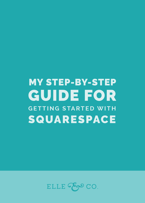 Getting Started with Squarespace