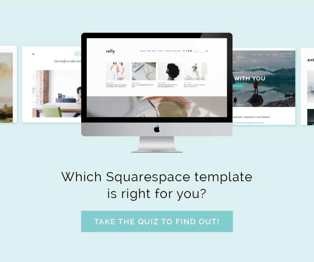 Setting up Pages and Navigation in Squarespace | Elle & Company