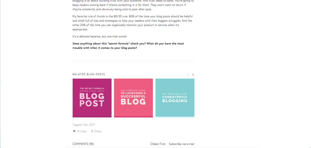 How to Blog Like a Pro in Squarespace | Elle & Company