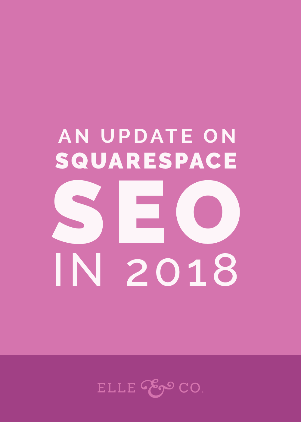 An Update on Squarespace SEO in 2018 | Elle & Company
