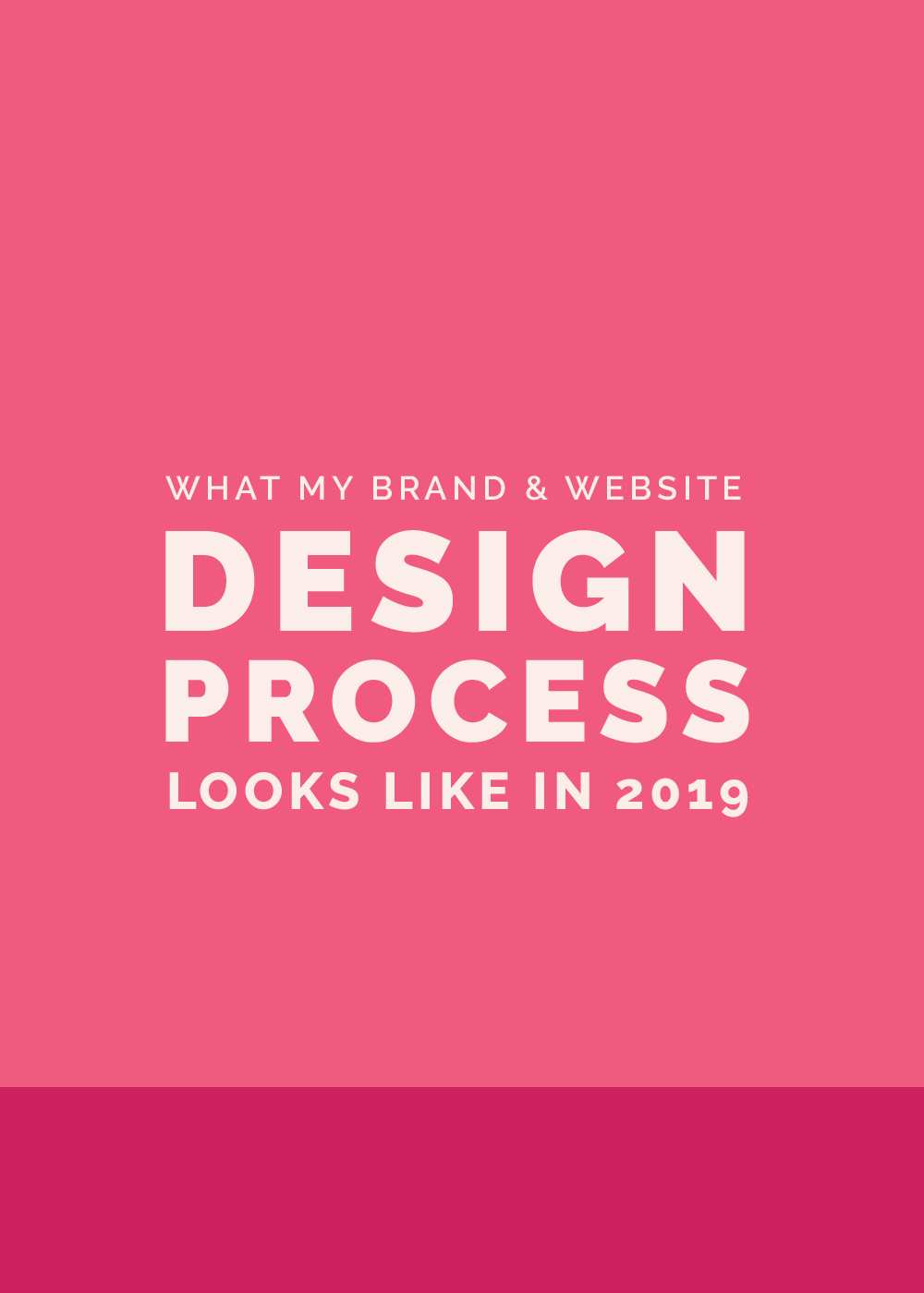 What My Brand + Website Design Process Looks Like in 2019 | Elle & Company