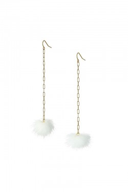 Vanessa Mooney - The Decades Pom Pom Earrings