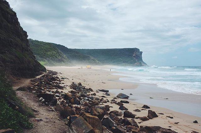 Garie Beach, Australia. 🇦🇺 #wanderlust #travel #travelgram #australia #latergram #sydney