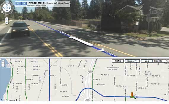 GoogleMaps-Biking