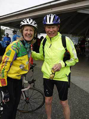 King County Councilmember Jane Hague participating in the 7 Hills of Kirkland in 2011. Photo courtesy Walk Krueger