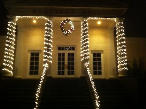 Christmas Lights Heritage Hall