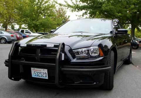 Police-Car-All-Black