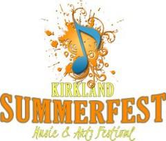 Kirkland Summerfest, August 9, 10, 11 2013. Admission is FREE