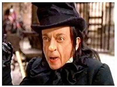 The Child Catcher from the 1968 film, Chitty Chitty Bang Bang