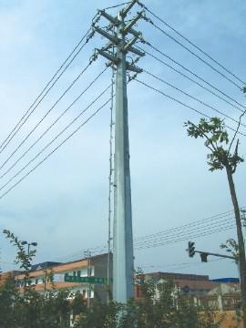 230KV Transmission lines monopole tower