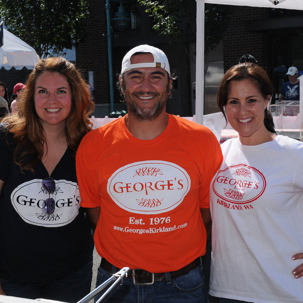 The crew at George's during Kirkland Summerfest.