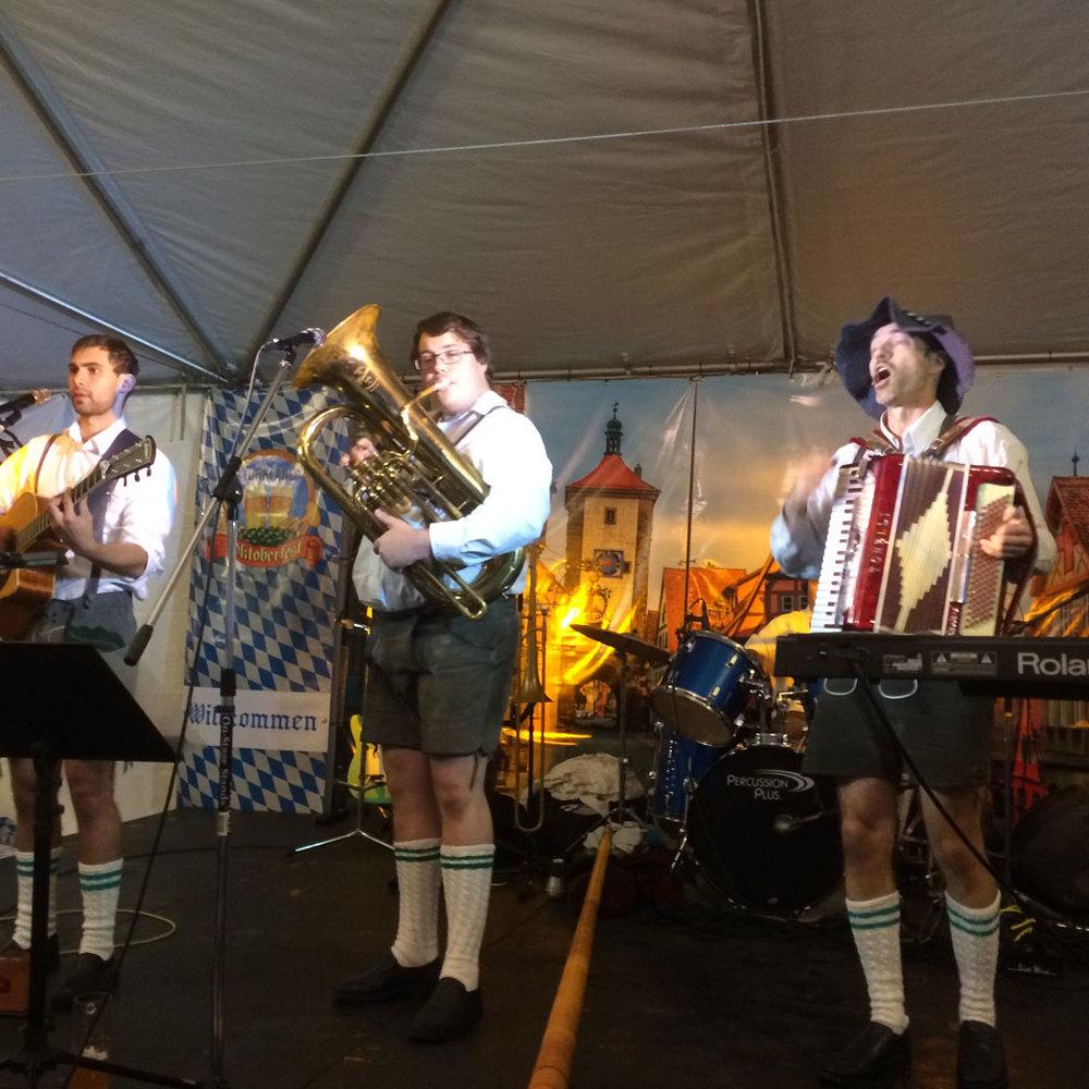 S-BAHN headlining at Kirkland Oktoberfest