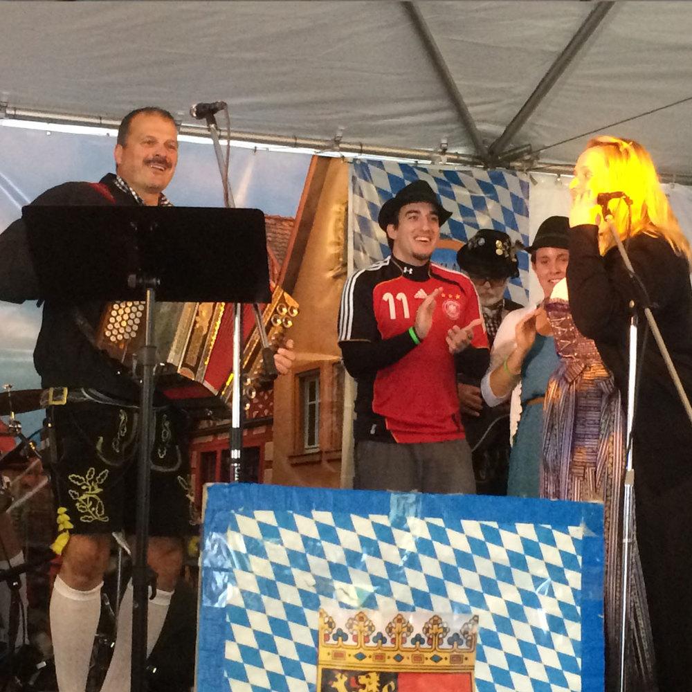 Happy Hanz performing at Kirkland Oktoberfest
