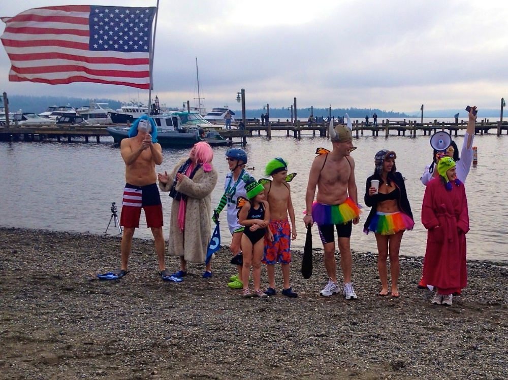 Costume contest at the 2014 Polar Bear Plunge