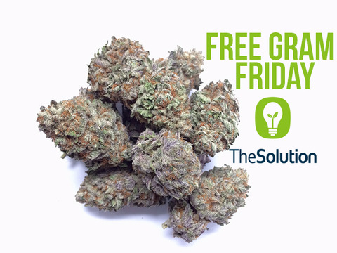 Attention weed shoppers: It's Free Gram Friday! Head on over toweedmaps.comformore information.