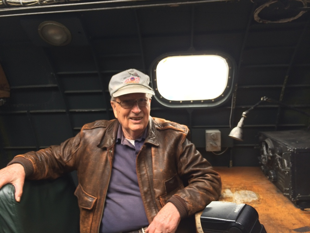 Veteran Ted Gary served as a Tail Gunner on a B-17 during WW II