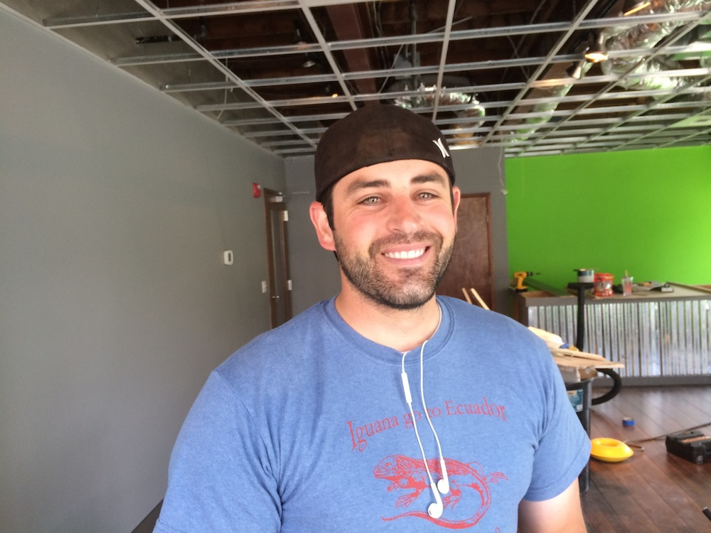 We caught up withWestin Terry as he was finishing the build out of Kirkland iRepair, located at 13 Central Way.